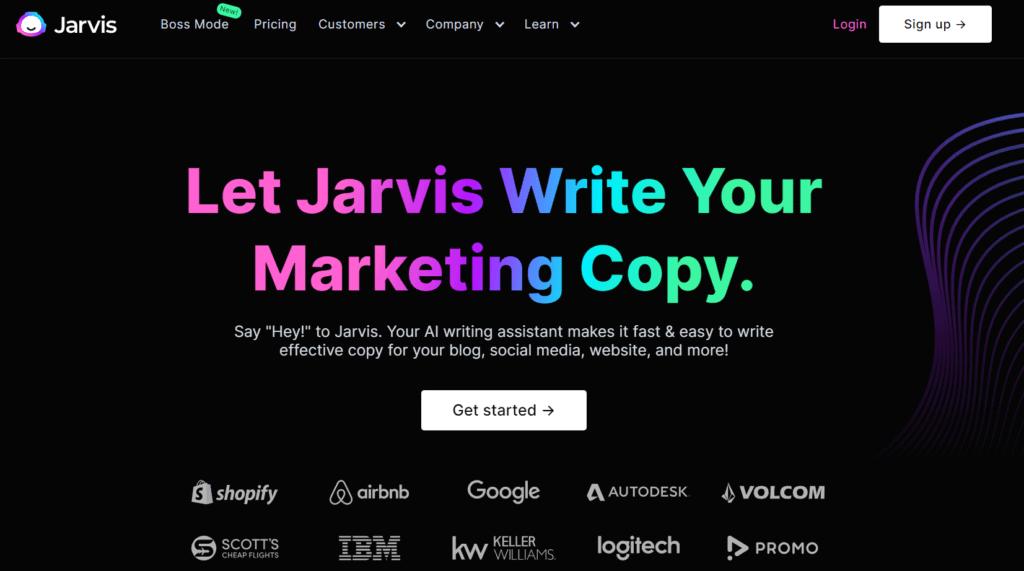 Homepage of Jarvis