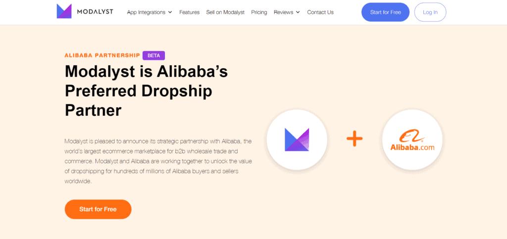 Modalyst Alibaba partnership