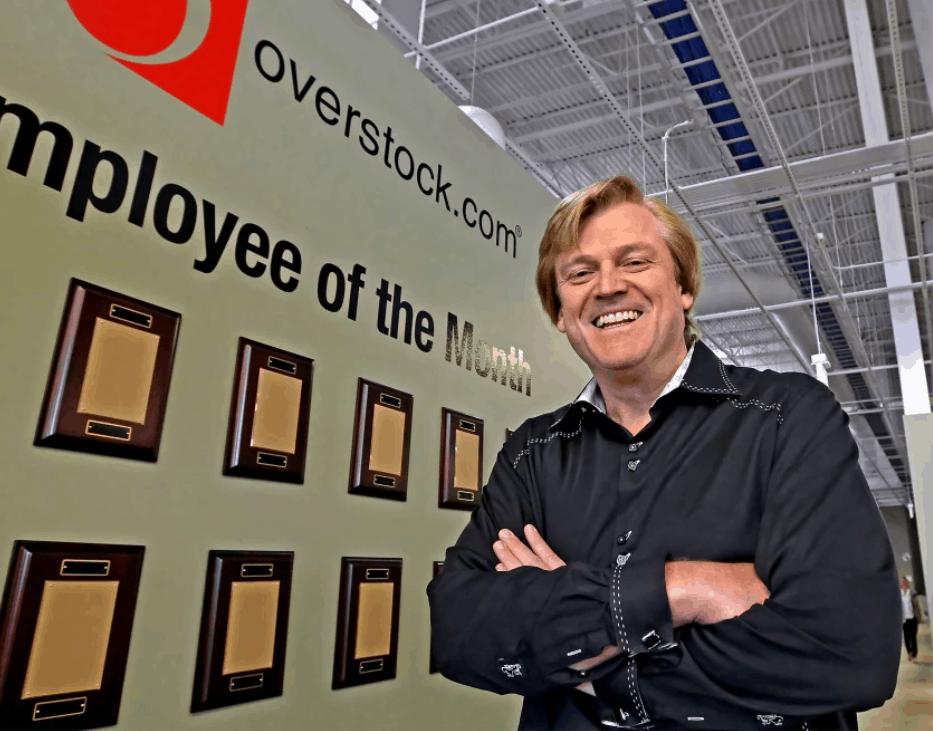 Patrick Byrne, founder of Overstock