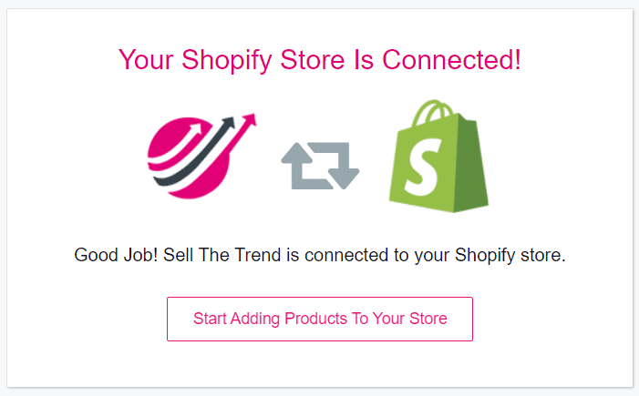 Store connected