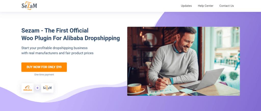 Sezam Woo plugin for Alibaba dropshipping