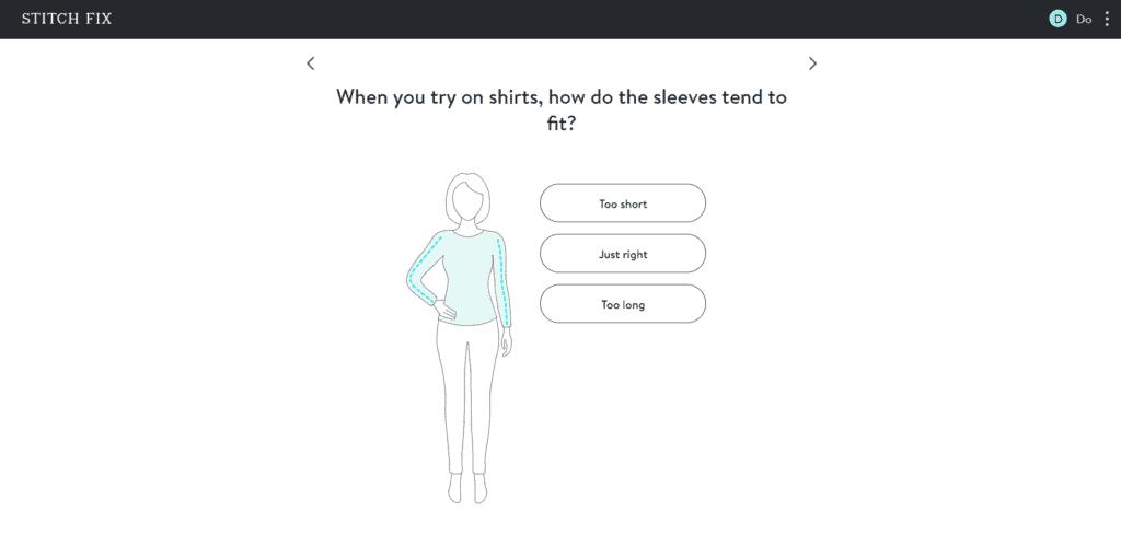 Stitch Fix Style Quiz