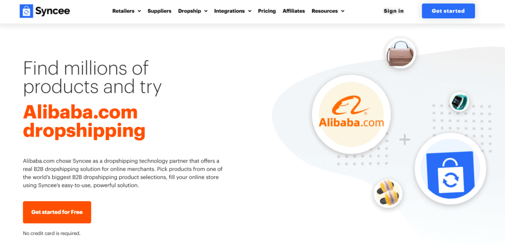 Syncee Alibaba partnership
