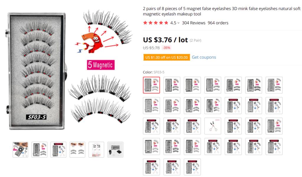 Eyelash kits AliExpress